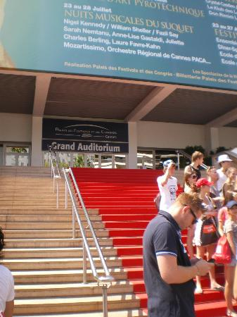Palais des Festivals et des Congres of Cannes: Palais de Festivals, red carpet