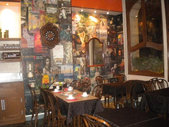 Louison Hotel: Salón de desayunos