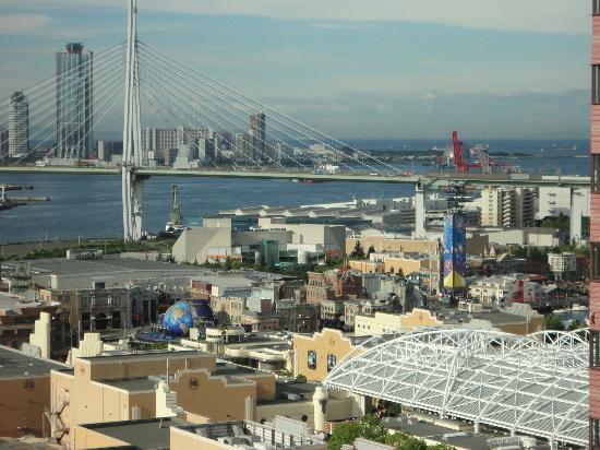 Hotel Keihan Universal City: 20階からの眺め