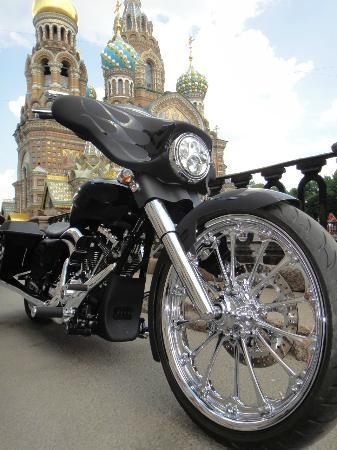 cerberus custom art in motion pro street chopper england