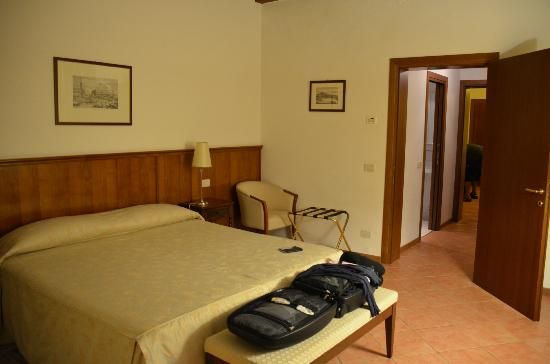 Residence Corte Grimani: Our room/bed