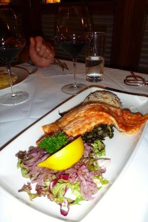 Rendezvous at Nargile: ...delicious fish dish...