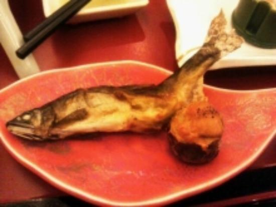 Ayu no Sato: あゆの塩焼き
