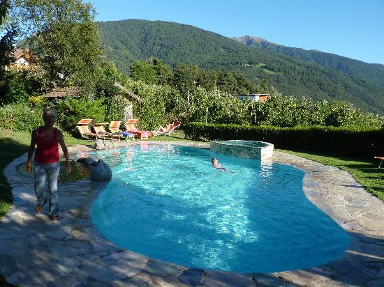 Naz-Sciaves (Natz-Schabs), Italien: La piscina dell' Hotel
