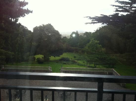 Sychnant Pass Country House: view from family room