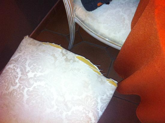 Austria: chair in the lunchroom