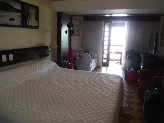 Hotel El Cazar: Quarto com varanda ocean-view