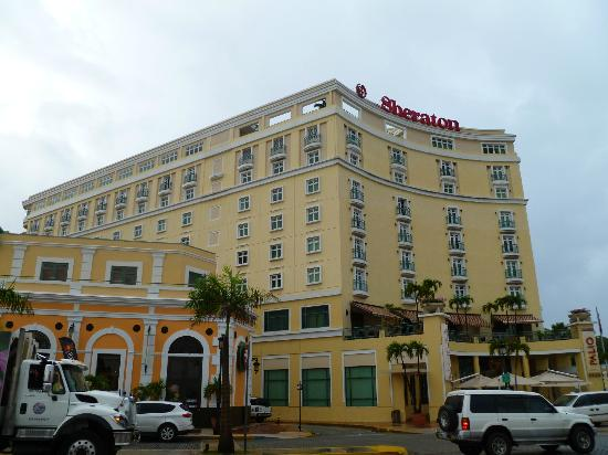 Sheraton Old San Juan Hotel: the outside of the hotel