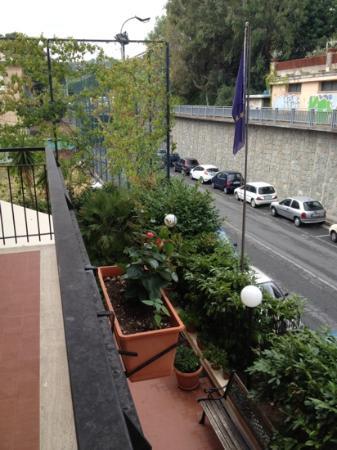 Hotel San Nazario: Вид из номера