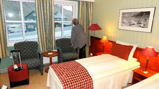 Spitsbergen Hotel: Fine room