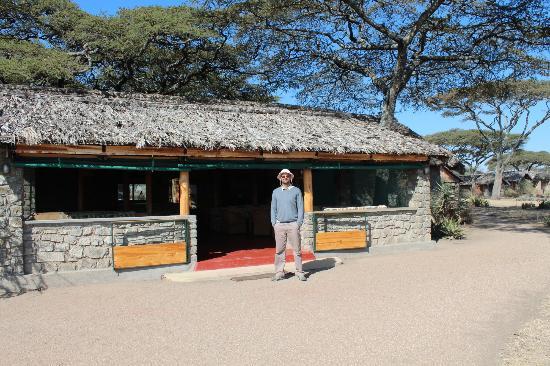 Ndutu Safari Lodge : vue sur le restaurant