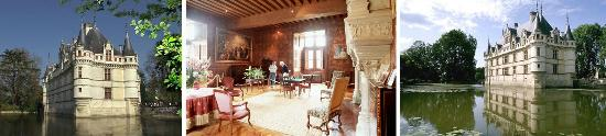Loire Valley - Day Tours : Chateau d'Azay le Rideau