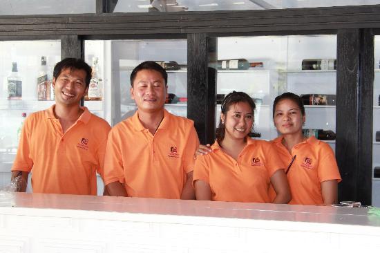 Punnpreeda Beach Resort: Our villa on arrival