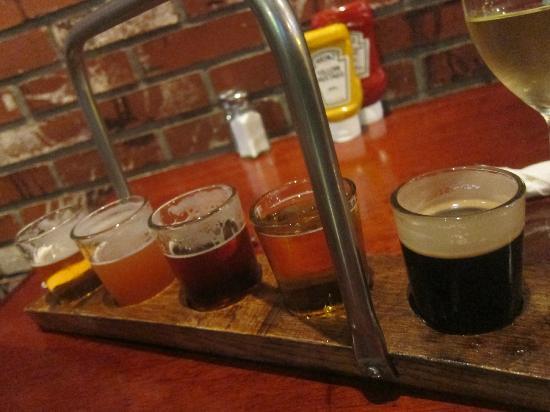 Santa Barbara Brewing Co: beer tasting!
