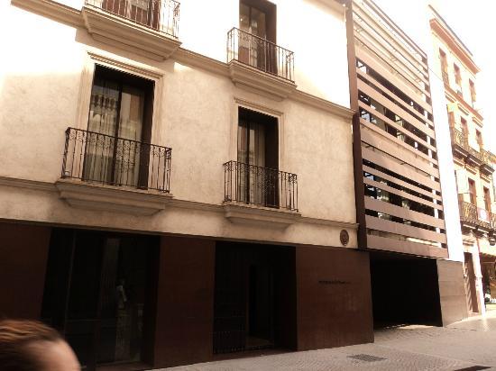 Hotel Posada del Lucero: 30-8-2012 - Fachada