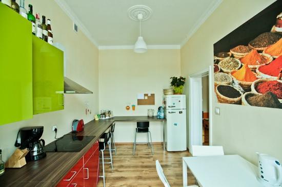 Poco Loco Hostel : kitchen