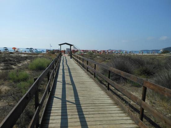 Eden Village Altura: accesso alla spiaggia