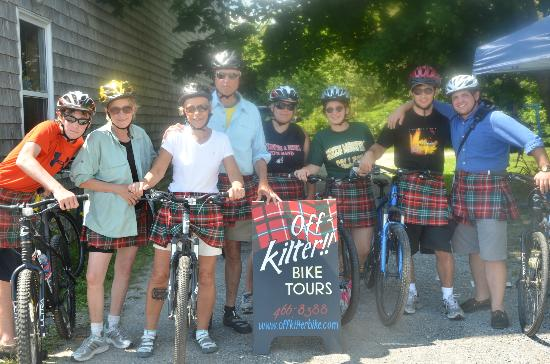 Kingsbrae Arms: Off-kilter Bike Tours in downtown St. Andrews