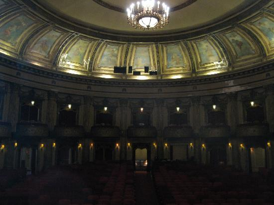 Al Ringling Theater Tour: Interior as seen from the stage