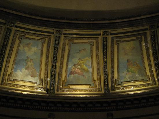 Al Ringling Theater Tour: The Ceiling Art