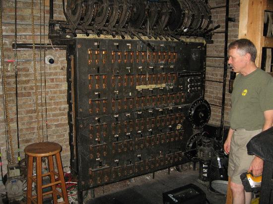 Al Ringling Theater Tours: Backstage Electric Panel for House Lights