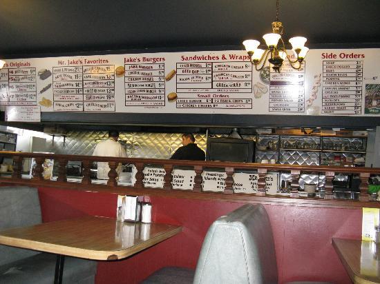 Mr Jake's Steakhouse: The restaurant