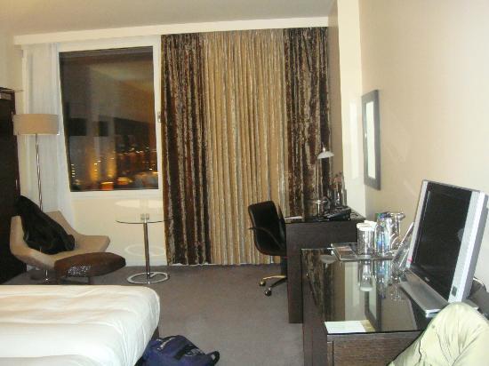Hilton London Canary Wharf: Habitación