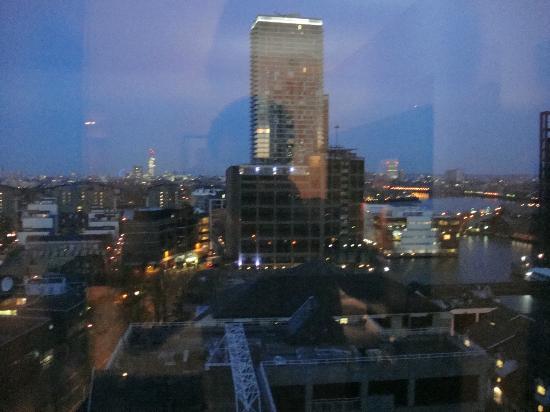 Hilton London Canary Wharf: Vista desde la habitación