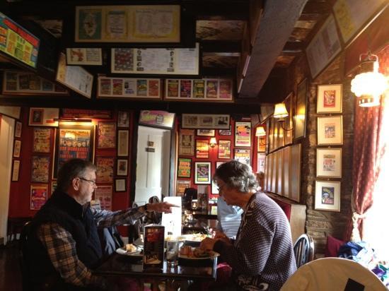 The Copper Horse : restaurant area