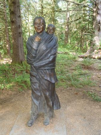 The Lewis And Clark National And State Historical Parks: Sacagawea & little Louis