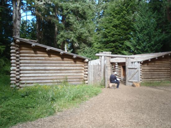 The Lewis And Clark National And State Historical Parks: View of the fort