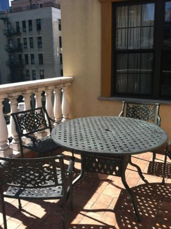 The French Quarters Guest Apartments: Our patio