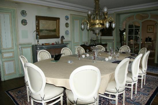 Château La Rametière : Esssaal