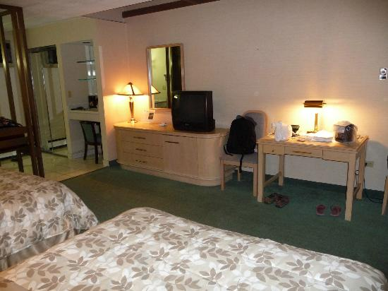 Rodeway Inn Fallsview: Inside the room