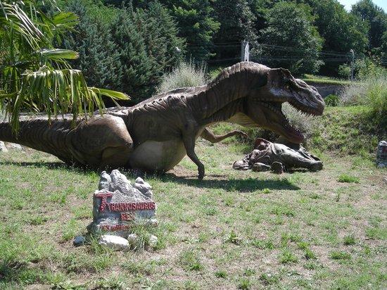San Lorenzello, Италия: dinosauri