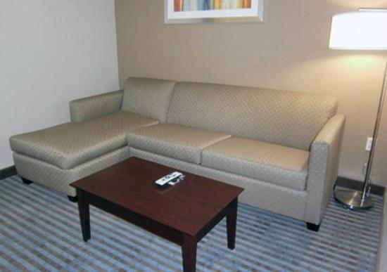 Comfort Inn & Suites Smyrna: Standard King Suite Living Room