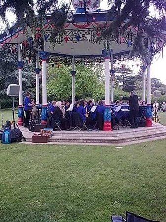 Prittlewell Priory: The Bandstand in Priory Park