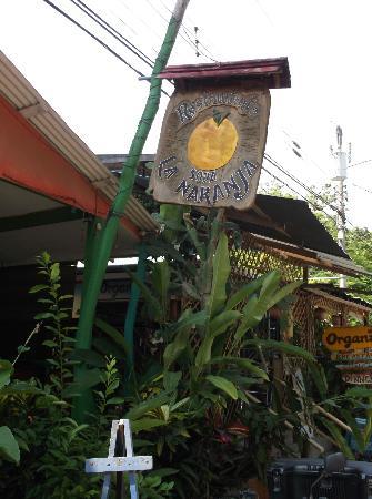 Soda La Naranja: The Sign for La Naranja Soda