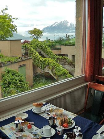 Hotel Alpenblick: breakfast