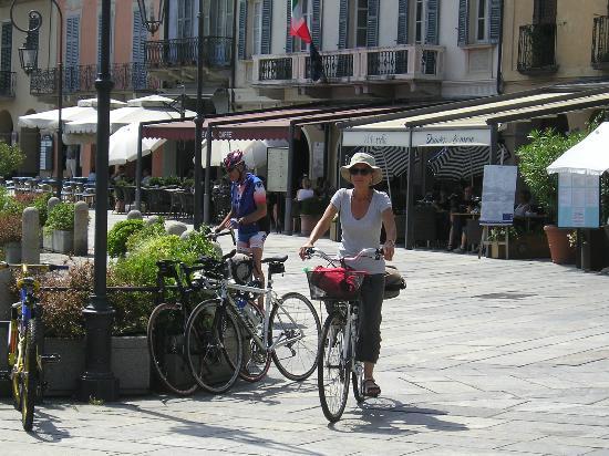 Park Hotel Villa Belvedere: Enjoying the bikes