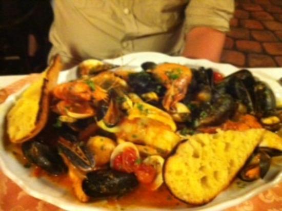 cristina restaurant: Seafood platter - Christina Restaurant