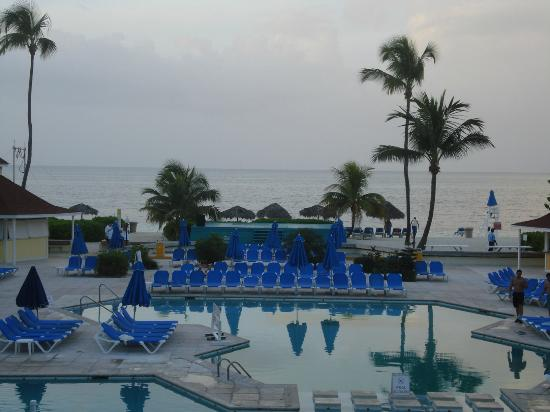 Breezes Resort & Spa Bahamas : View of the Pool Area