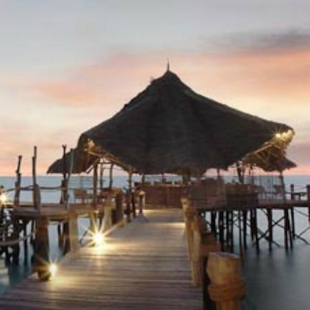 Fundu Lagoon: Jetty Bar
