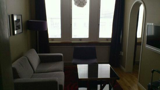 Hotel Aldoria: salotto