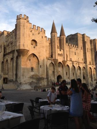 La Fourchette: view from the restaurant