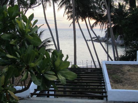Koh Tao Cabana: Vue de la villa Chum Poo
