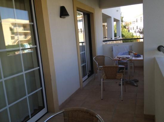 Novochoro Apartamentos Turisticos: our balcony
