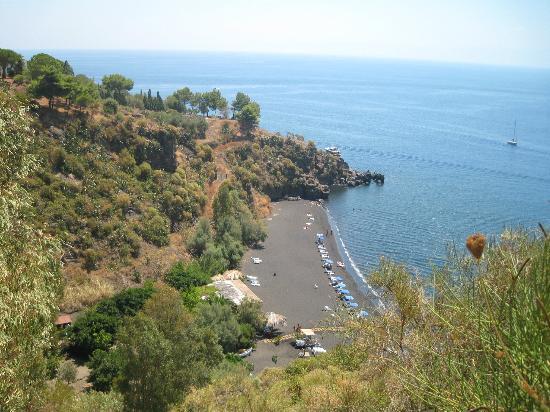 spiaggia dell'Asino dalla discesa