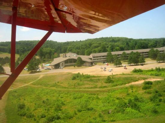Telemark Resort & Convention Center: A view of the lodge from the air