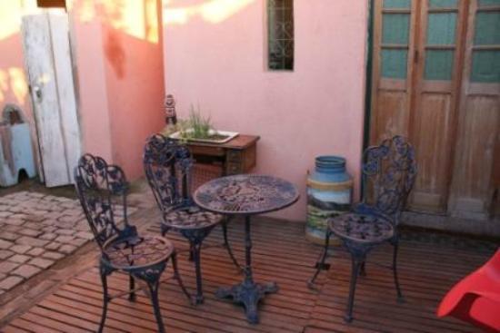Canto da Carambola: Sitzecke im Garten